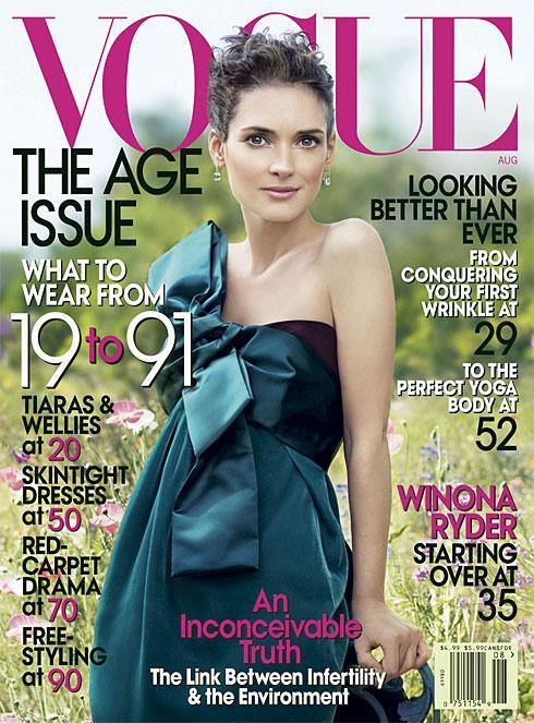 Winona Ryder for Vogue