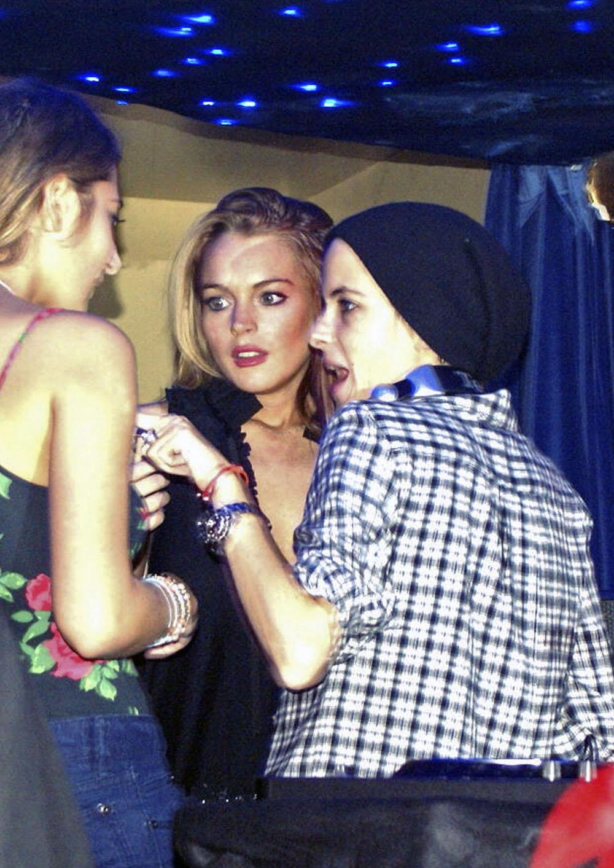 Lindsay lohan and samantha ronson break up