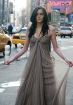 Ali Lohan at photoshoot in Times Square
