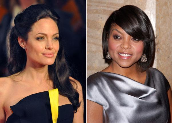 Cele|bitchy | Taraji Henson and Angelina Jolie want to ...