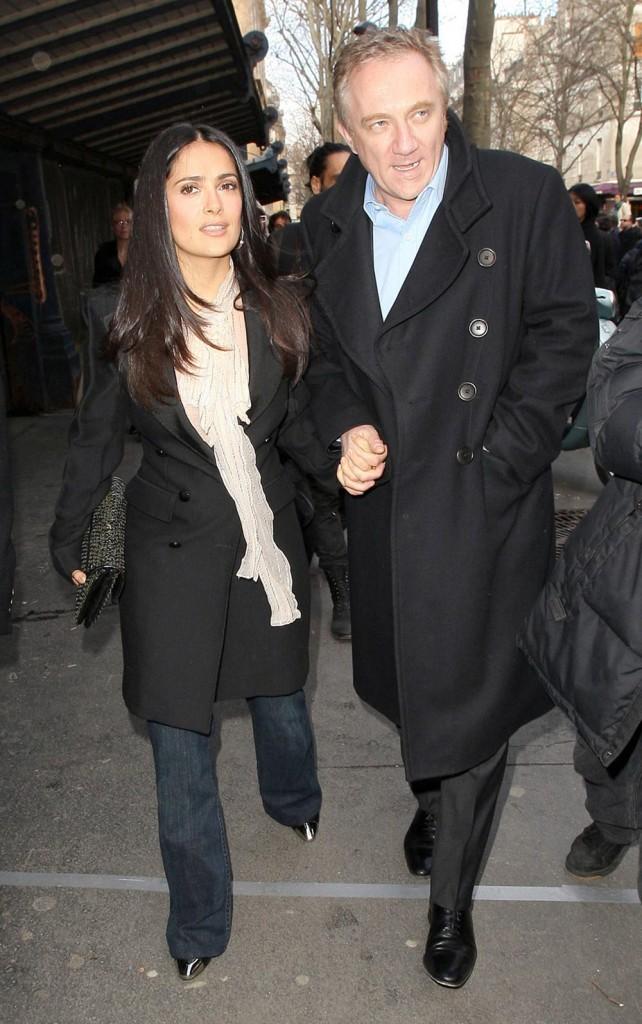 Cele|bitchy | Salma Ha... Salma Hayek Husband Occupation