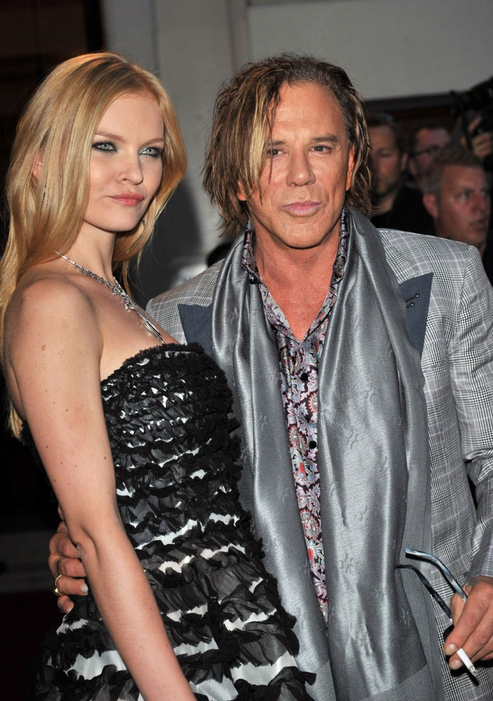 Cele|bitchy | Mickey Rourke has a new 24 year-old girlfriend