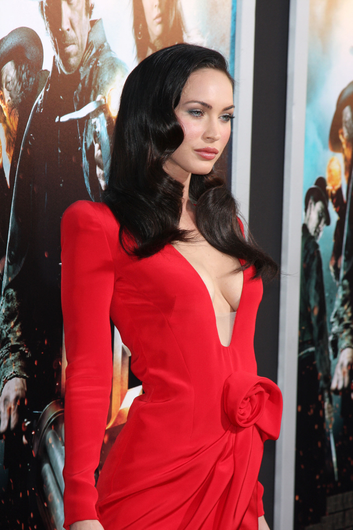 Megan Fox 2010 Red Dress Cele bitchy   Megan Fo...