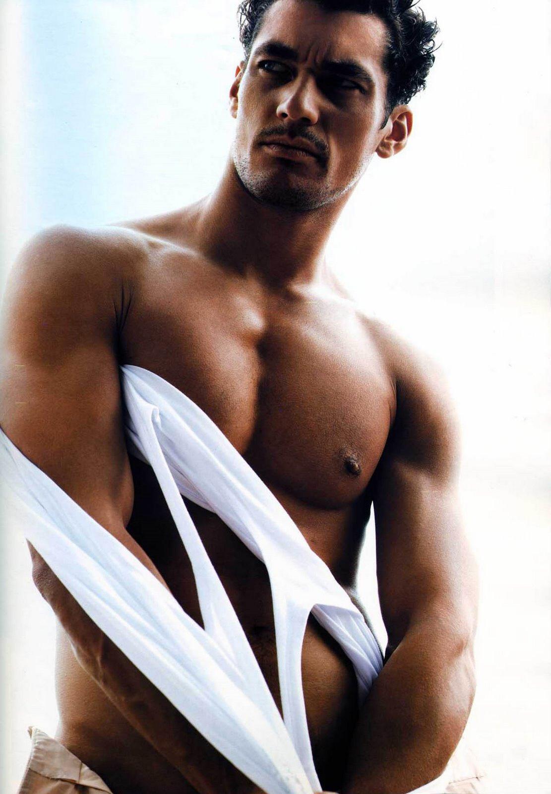 Male Model David Gandy