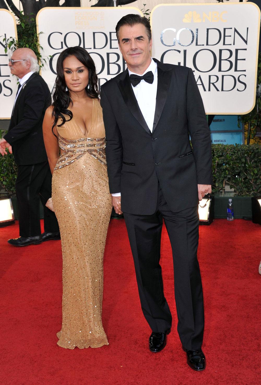 Chris Noth with beautiful, cute, Wife Tara Wilson