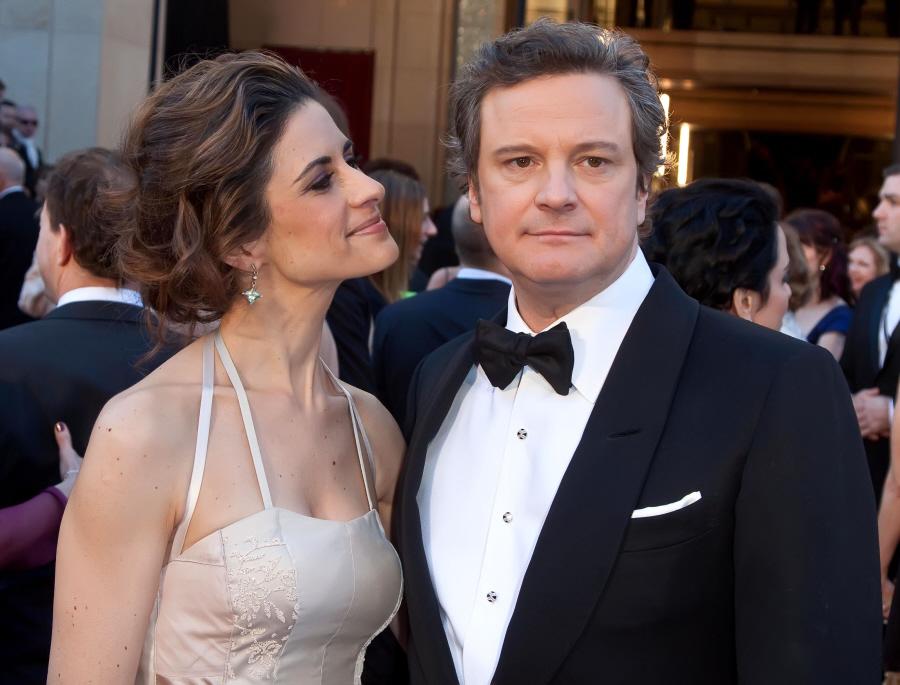 Cele|bitchy | Oscar Best Couples: Colin Firth & Livia ...