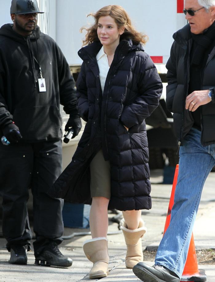 Cele bitchy   Sandra Bullock's new hair: hopefully a funky ... Sandra Bullock Nc