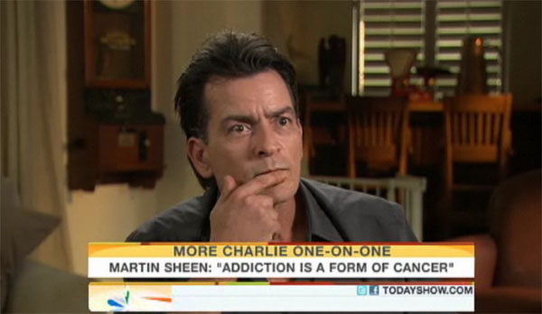 mel gibson crazy eyes. Charlie Sheen, Mel Gibson