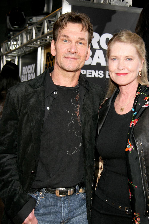 Patrick Swayze and Wife