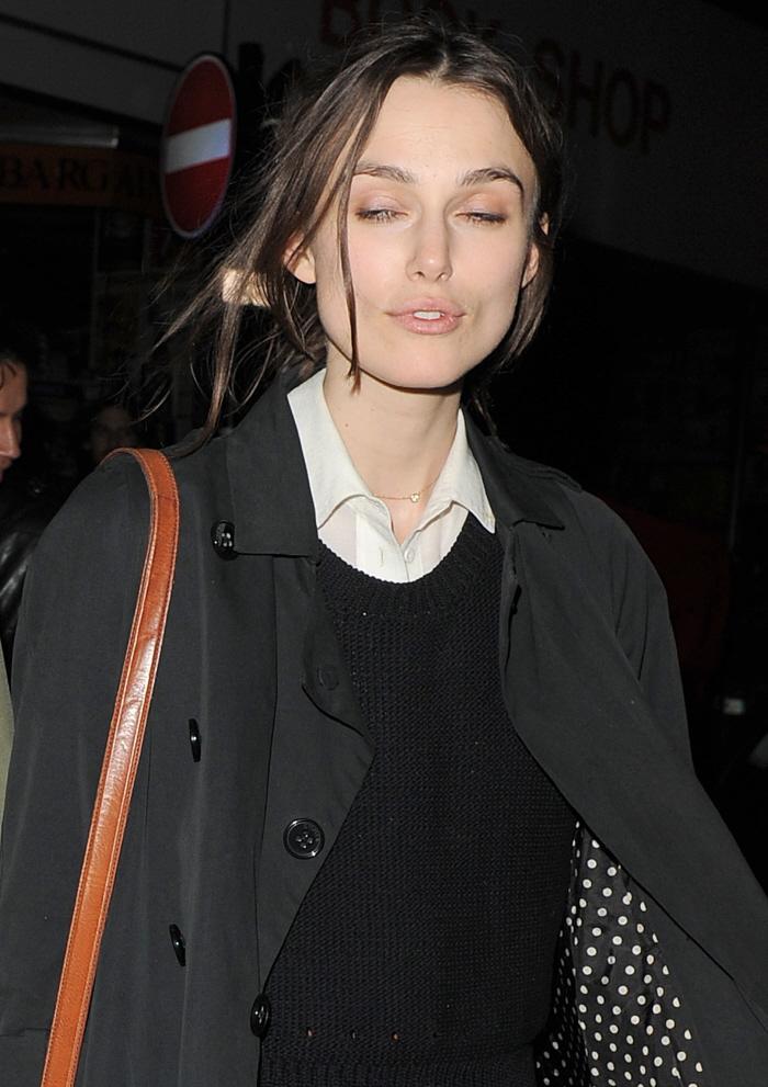 Keira Knightley No Makeup Celebitchy keira knightley goes makeup-less ...