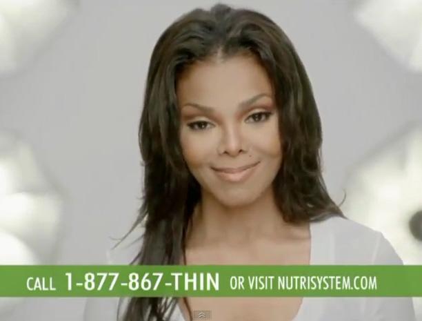 Janet Jackson Nutrisystem