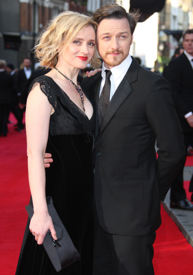 James Mcavoy 2014 Wife Cele bitchy   J...