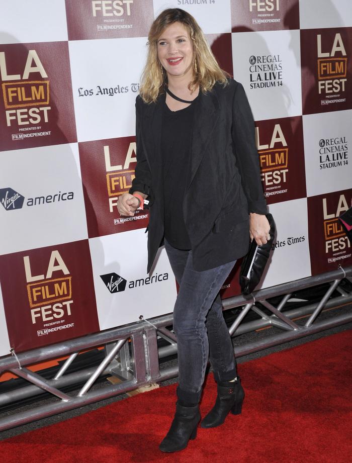 Keira Knightley in beige Valentino at the LA Film Festival: hideous or