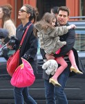 Tom Cruise And Family Sightseeing In New York