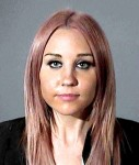 Amanda Bynes is seen in this mug shot after being arrested on a DUI charge early this morning