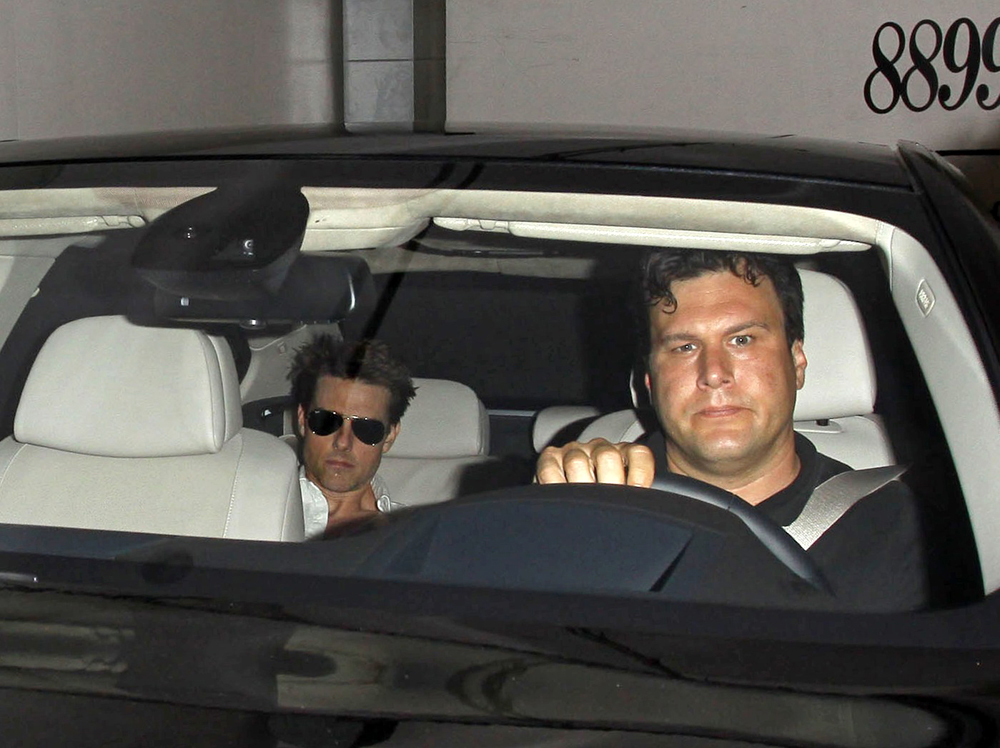 Cele Bitchy Tom Cruise Resurfaces In Los Angeles