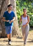 Exclusive... Makeup-Less Jennifer Love Hewitt Takes Her New Man For A Jog