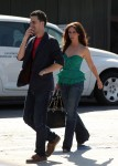 Exclusive... Jennifer Love Hewitt and Mystery Man Grab Lunch