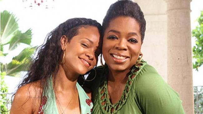 Rihanna Oprah