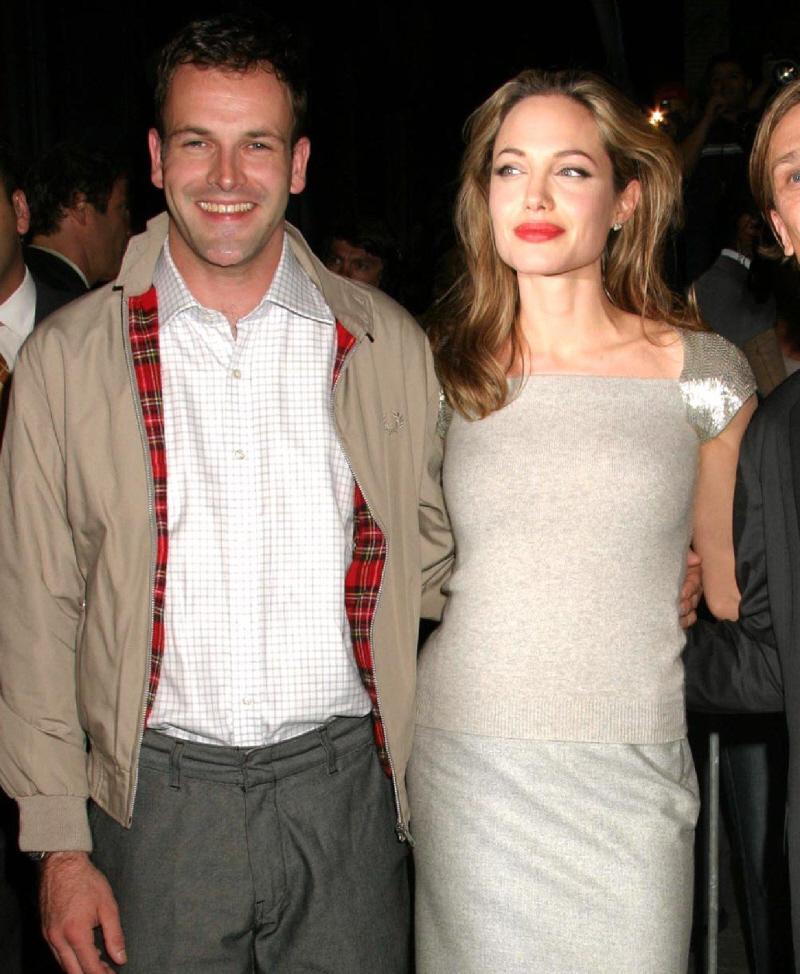 Angelina jolie secretly recording her ex husband s tv show