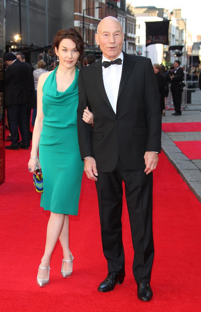 Cele|bitchy | Patrick Stewart, 73, marries Sunny Ozell, 35 ...