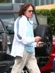 Kris & Bruce Jenner Have A Meeting In Sherman Oaks