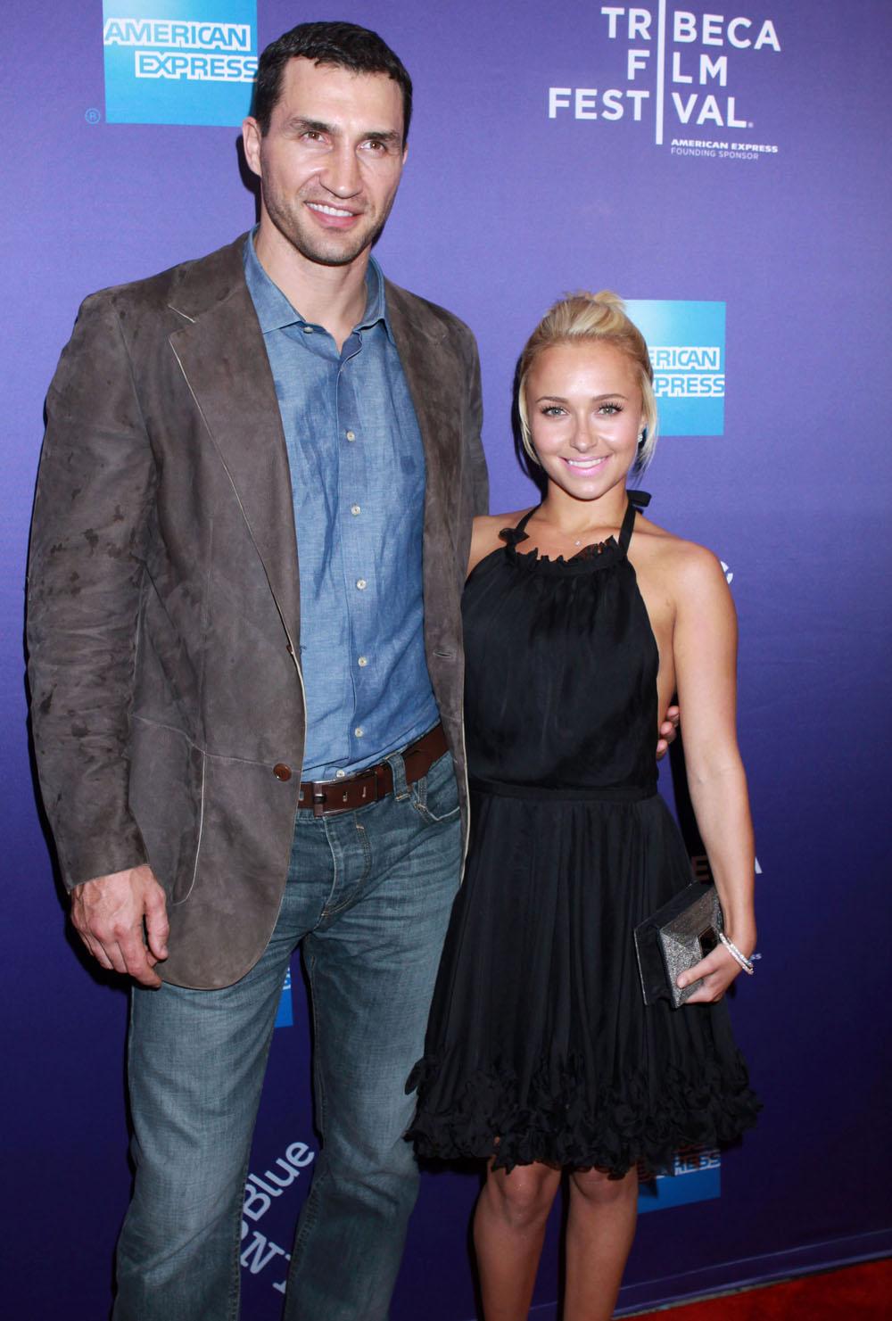 Hayden Panettiere Secretly Engaged Wladimir Klitschko! **file Photos**
