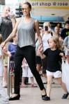 Angelina Jolie and her kids spend a day out shopping at Rose Bay in Sydney
