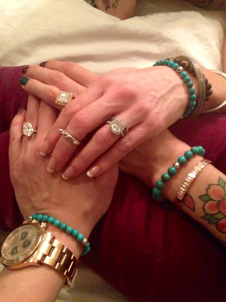 Leann Rimes Engagement Ring Size
