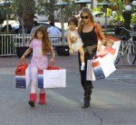 Denise Richards Shopping At Fred Segal