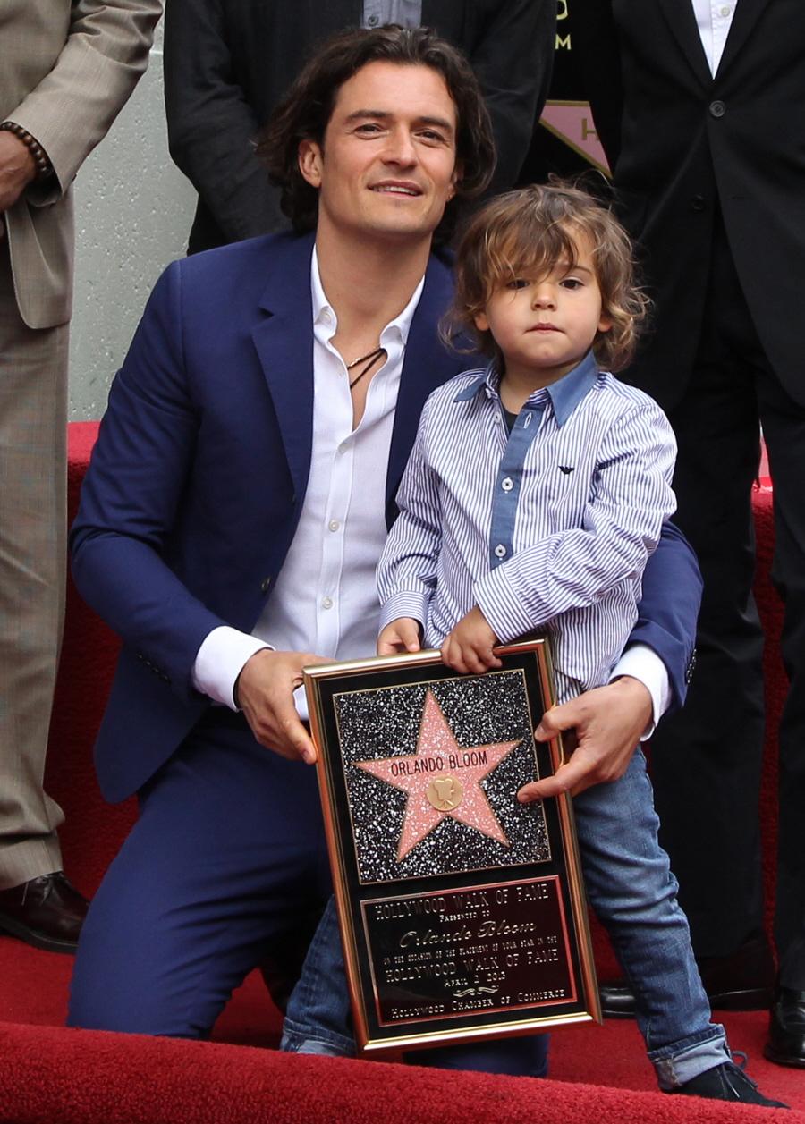Orlando Bloom Flynn Walk Of Fame