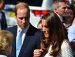 Duchess Kate wears a white Zimmerman dress, jokes about Will's