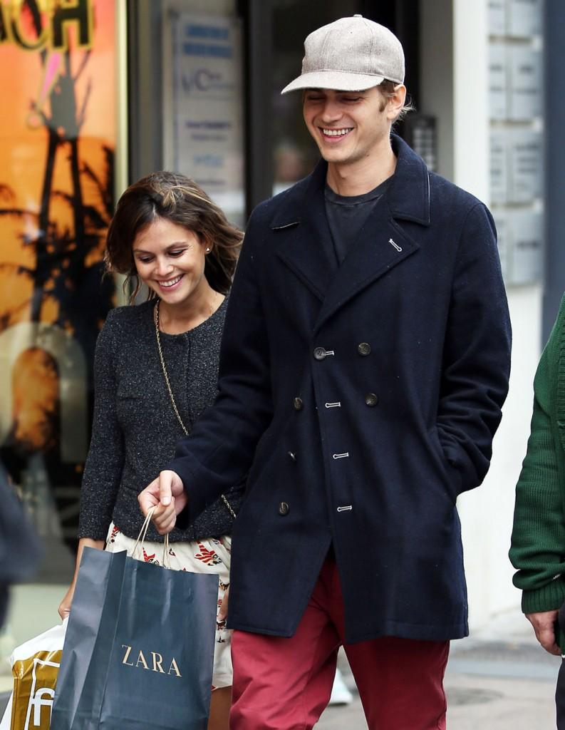 Rachel Bilson & Hayden Christensen Shopping In Cannes