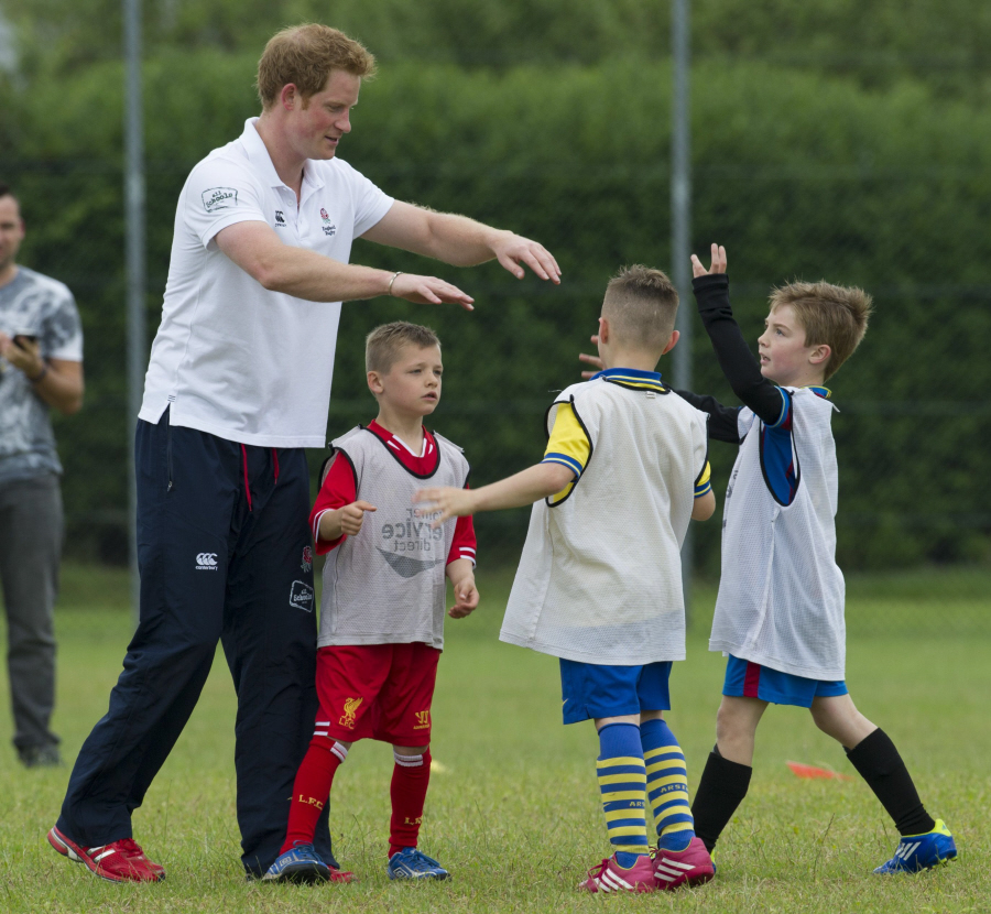 Prince Harry Got To Play Sports With Little