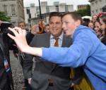 Channing Tatum and Jonah Hill 22 Jump Street in Dublin