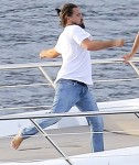 FFN_DiCaprio_YachtKarate_EXCL_PAL_072214_51484431