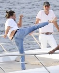 FFN_DiCaprio_YachtKarate_EXCL_PAL_072214_51484433