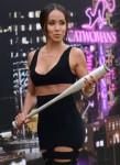 Comic-Con International 2014 - Stars Ride The 'Gotham' Zip Line