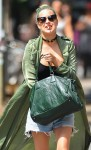 Tallulah Willis Enjoys A Cigarette In NYC