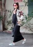 Exclusive... Pregnant Rachel Bilson Treats Herself To A Mani