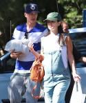 Pregnant Rachel Bilson & Hayden Christensen Out On A Camping Trip
