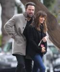 Ben Affleck & Jennifer Garner Out And About In Brentwood