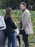 Ben Affleck & Jennifer Garner Out And About In Brentwood
