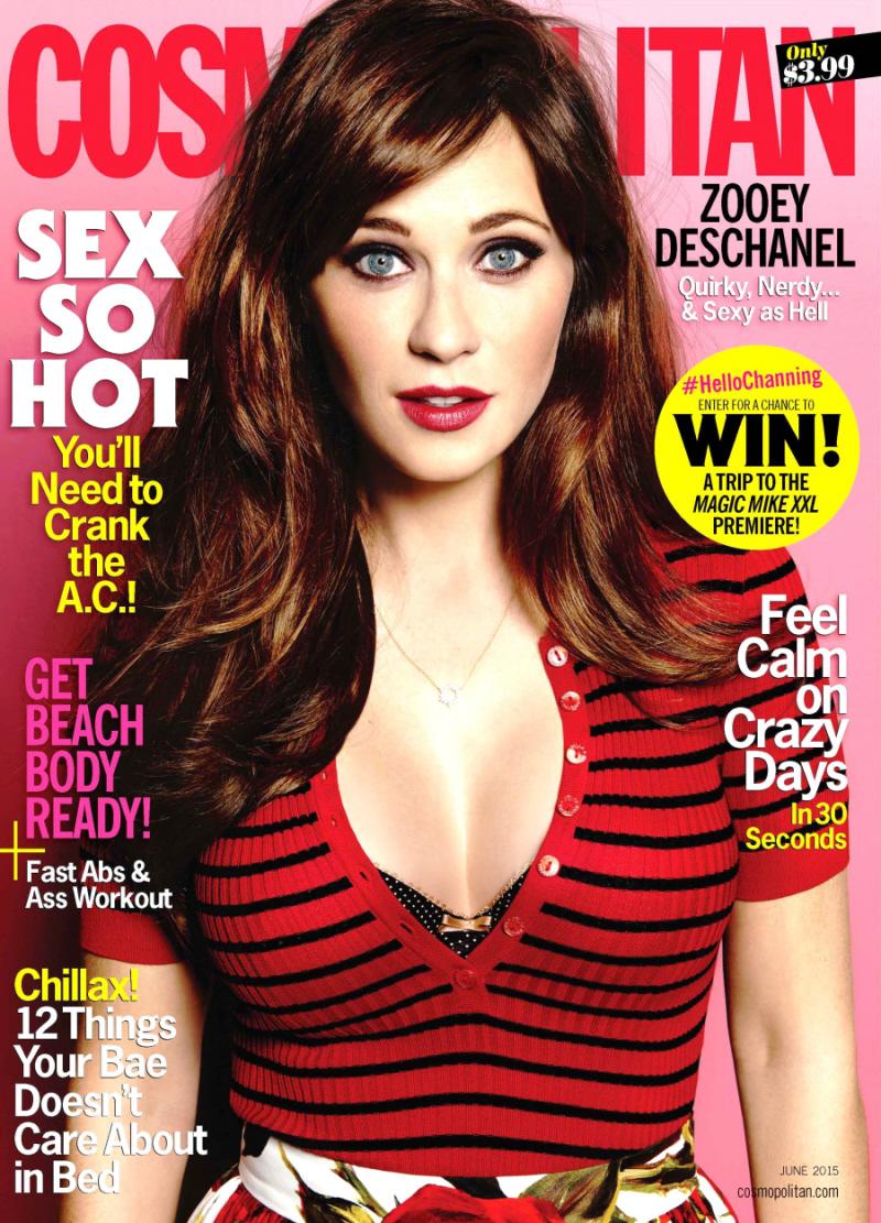 Cosmo June '15 Cover