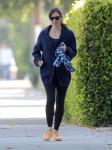 Exclusive... Jennifer Garner Takes Samuel For A Walk
