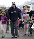 Ben Affleck & Jennifer Garner Visit The Farmer's Market With Their Children