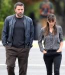 Semi-Exclusive... Ben Affleck & Jennifer Garner Step Out In Brentwood