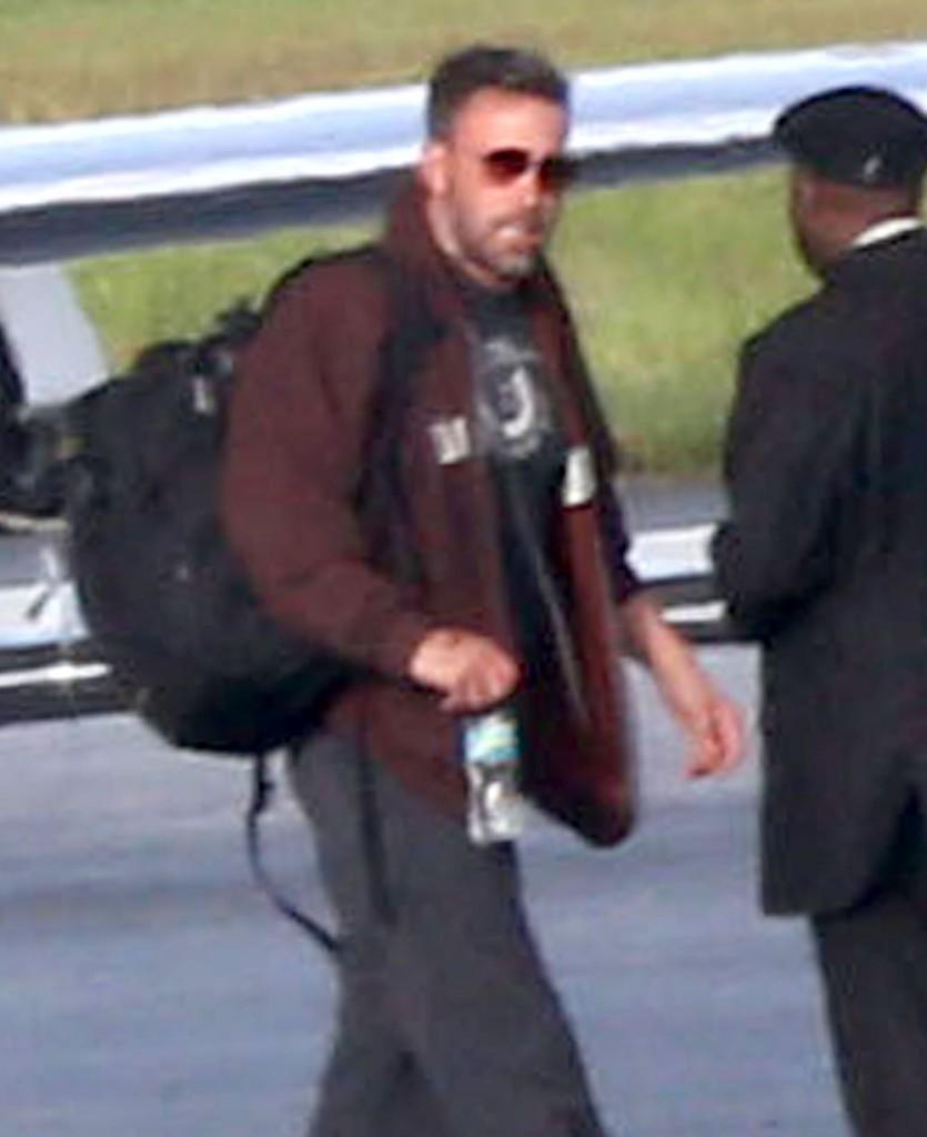 Ben Affleck Arrives In Atlanta To Spend Time With Jennifer