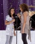 Whitney Houston in Concert on Good Morning America Summer Concert Series - September 1, 2009
