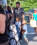 Ben Affleck Enjoys The Farmer's Market With His Children